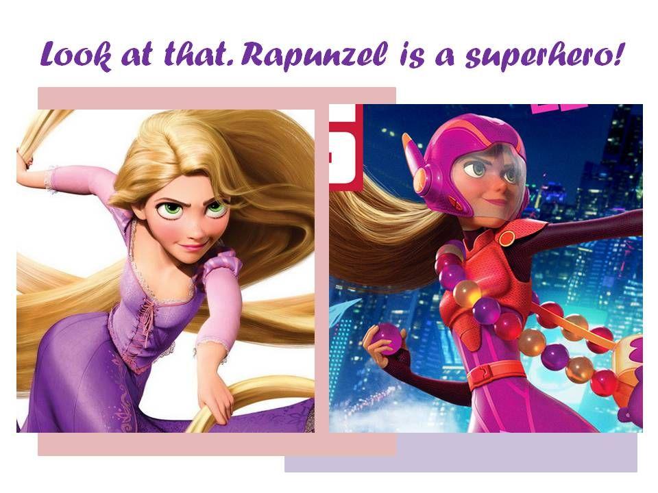 Honey Lemon Big Hero 6 Rapunzel ... Ideas About Honey ...