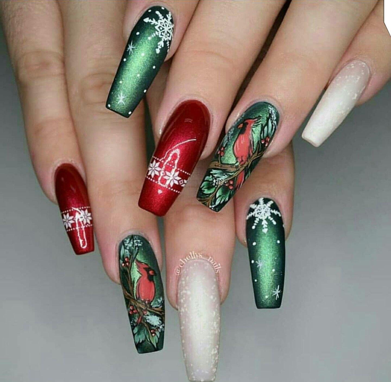 Pin von enticing auf long nails | Pinterest