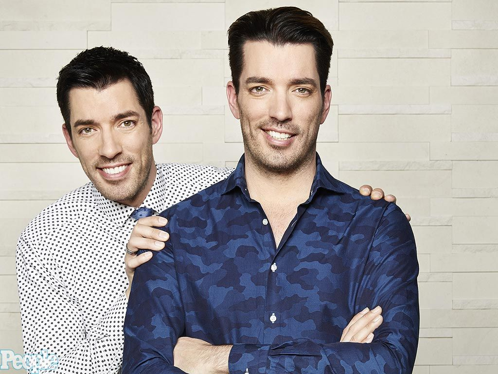 are the property brothers identical twins