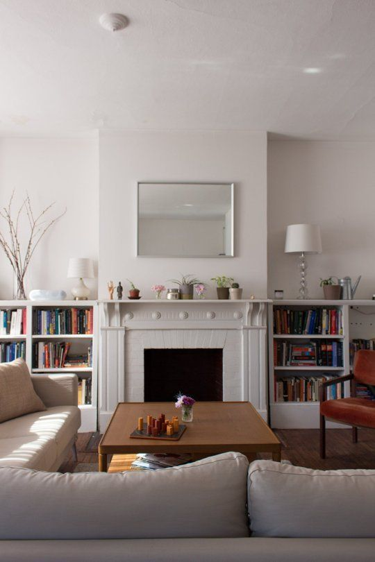 apartment therapy living room buying furniture house tour small simple with muted colors home