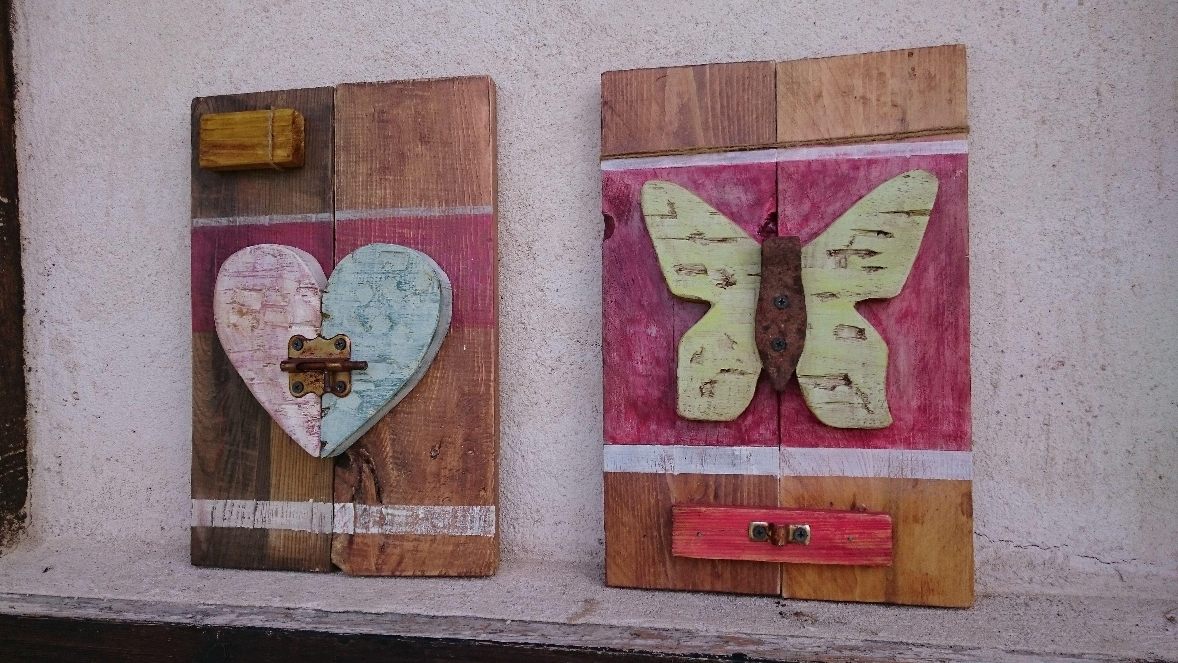 Cuadros hechos de palets y realizados en relieve con motivos antiguos mis creaciones - Cuadros hechos con palets ...