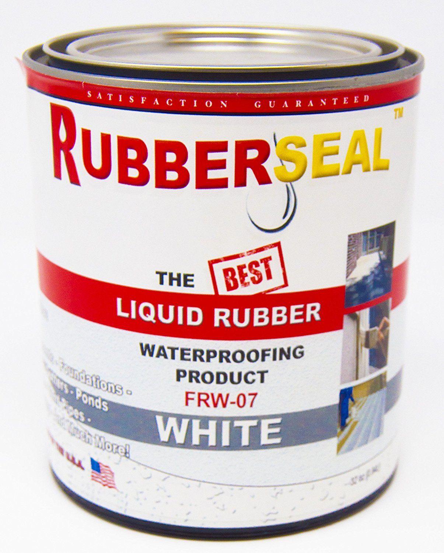 Rubberseal Liquid Rubber 32oz White Walmart Com In 2020 Liquid Rubber Ceramic Insulation Diy Wall Stickers