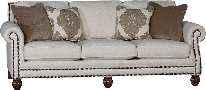 Mayo Furniture 4300f Fabric Sofa Downton Gypsum