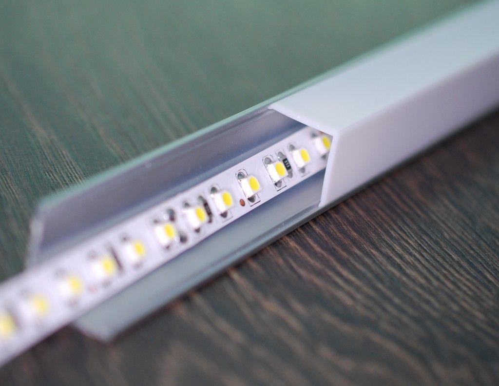 Ikea Hack Bad Spiegel Mit Led Beleuchtung Bw Baublog Led Beleuchtung Led Spiegel Led
