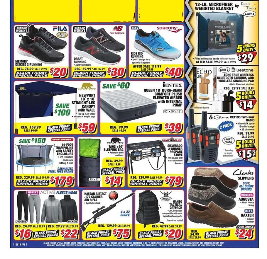 Big 5 Sporting Goods Black Friday Ad Scan, Deals and Sales