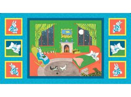 Goodnight Moon fabric panel by Quilting Treasures | Children's ...