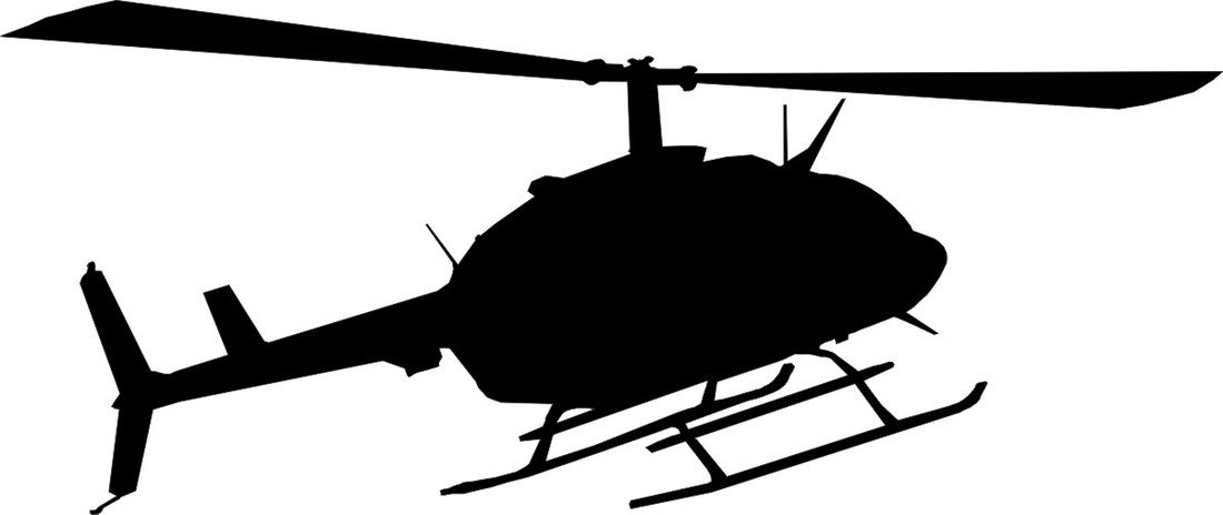 Helicopter Silhouette Back Gt Gallery For Gt Army