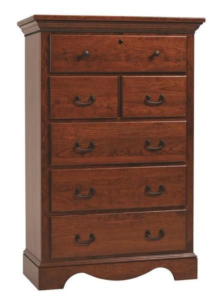 Amish Merlot Chest of Drawers in 2018 Dressers and Chests