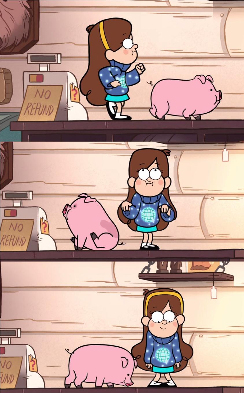 """Mabel y pato tributo a """"el club de los cinco"""""""
