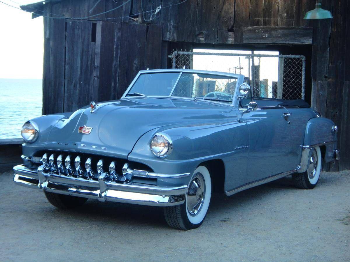 1952 DeSoto Custom Convertible | Old Rides 5 | Pinterest | 50s cars ...