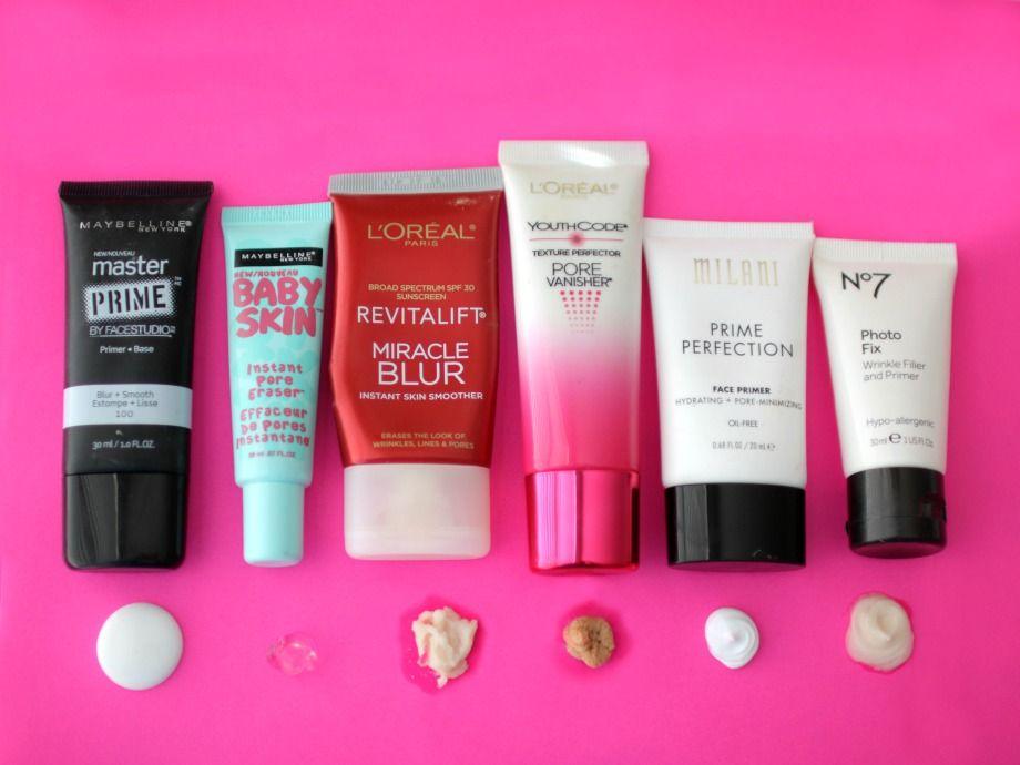 Best Drugstore Primers To Hide Pores Best Drugstore Primer Drugstore Primer Best Makeup Primer