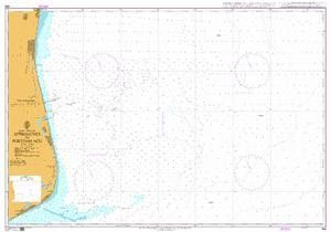 British Admiralty Nautical Chart 496: Brazil - Brazil - East Coast, Approaches to Porto do Açu