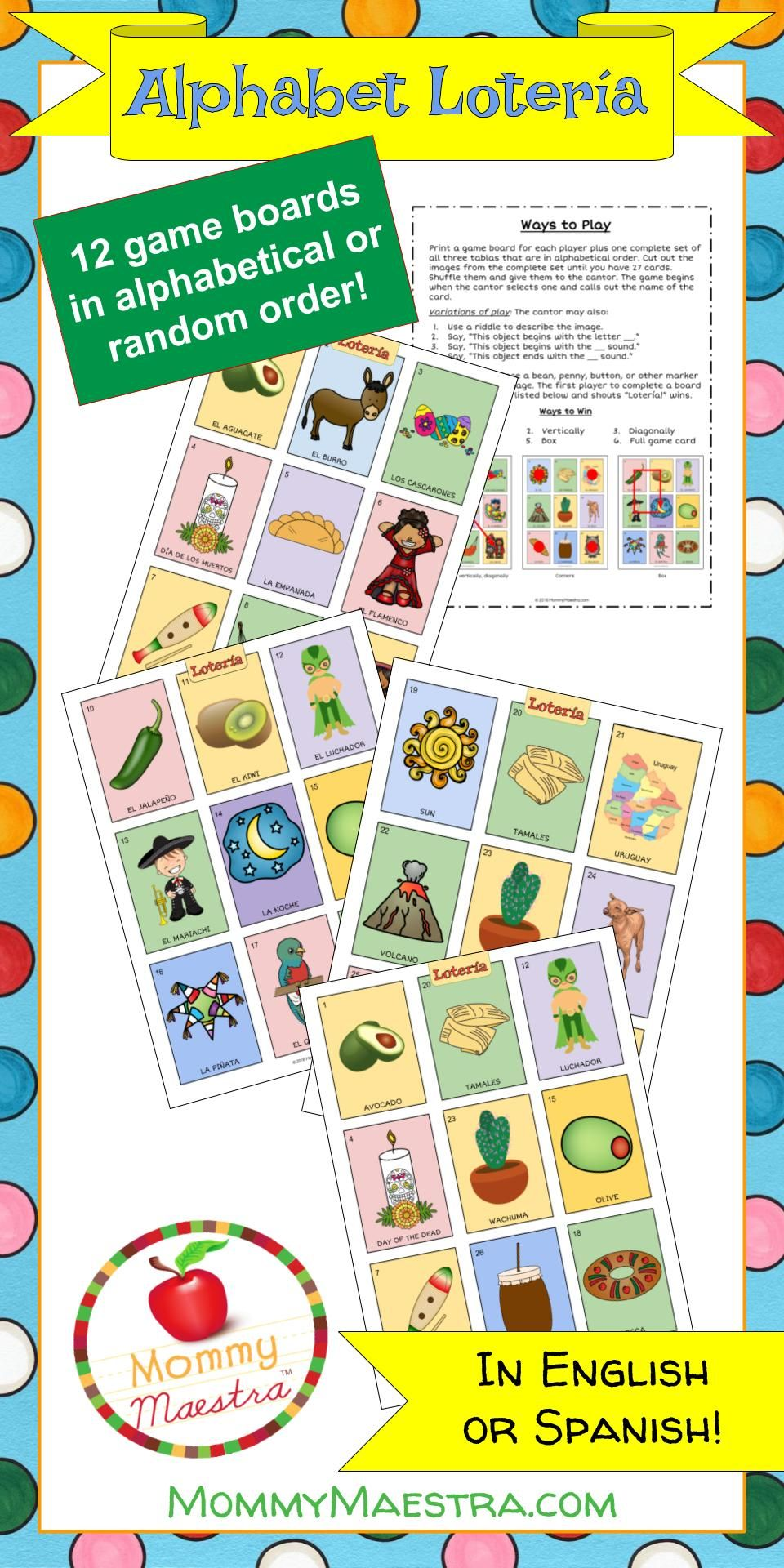 Celebrating Lotería! Doodles, Mexican culture, Classic card