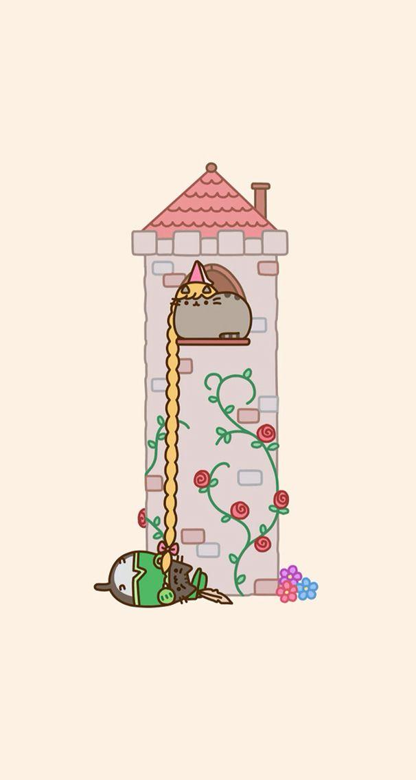 Pusheen Wallpaper Phone Wallpaper Hd Pusheen Cat Cats Und Cat Gif