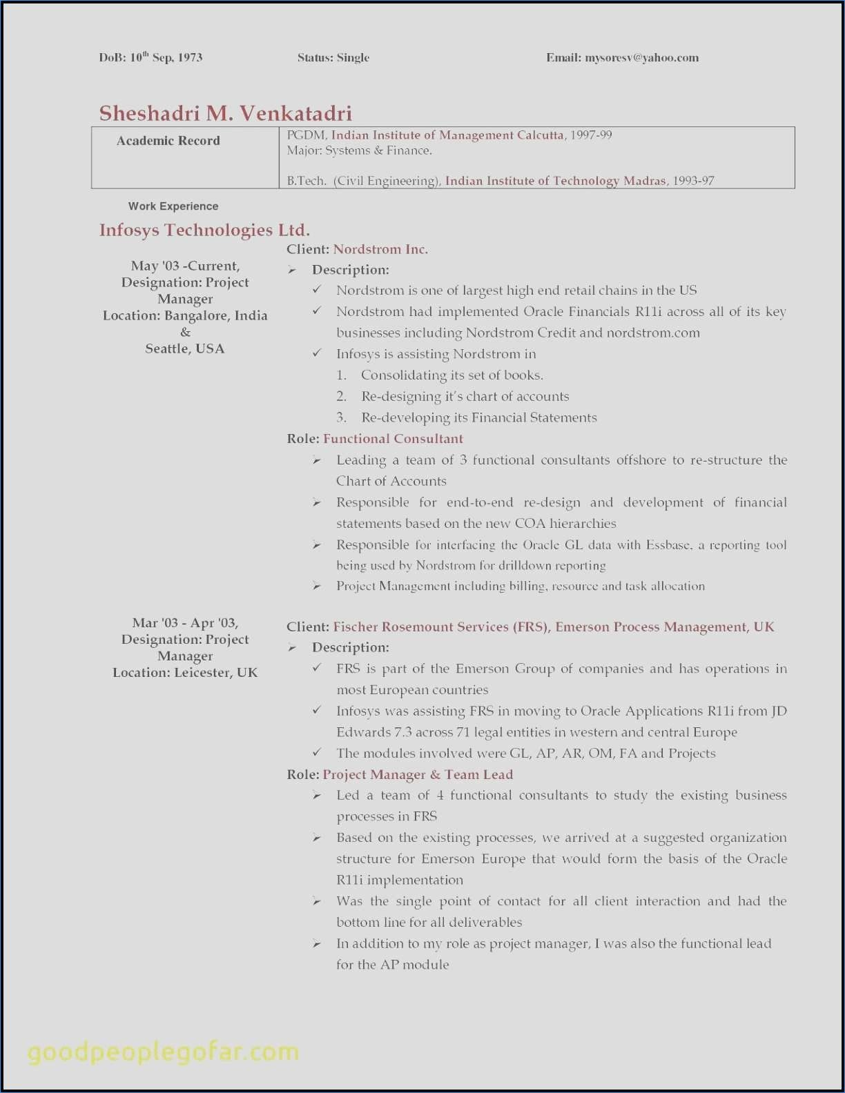 System Engineering Resume Examples Fresh Unique Customer