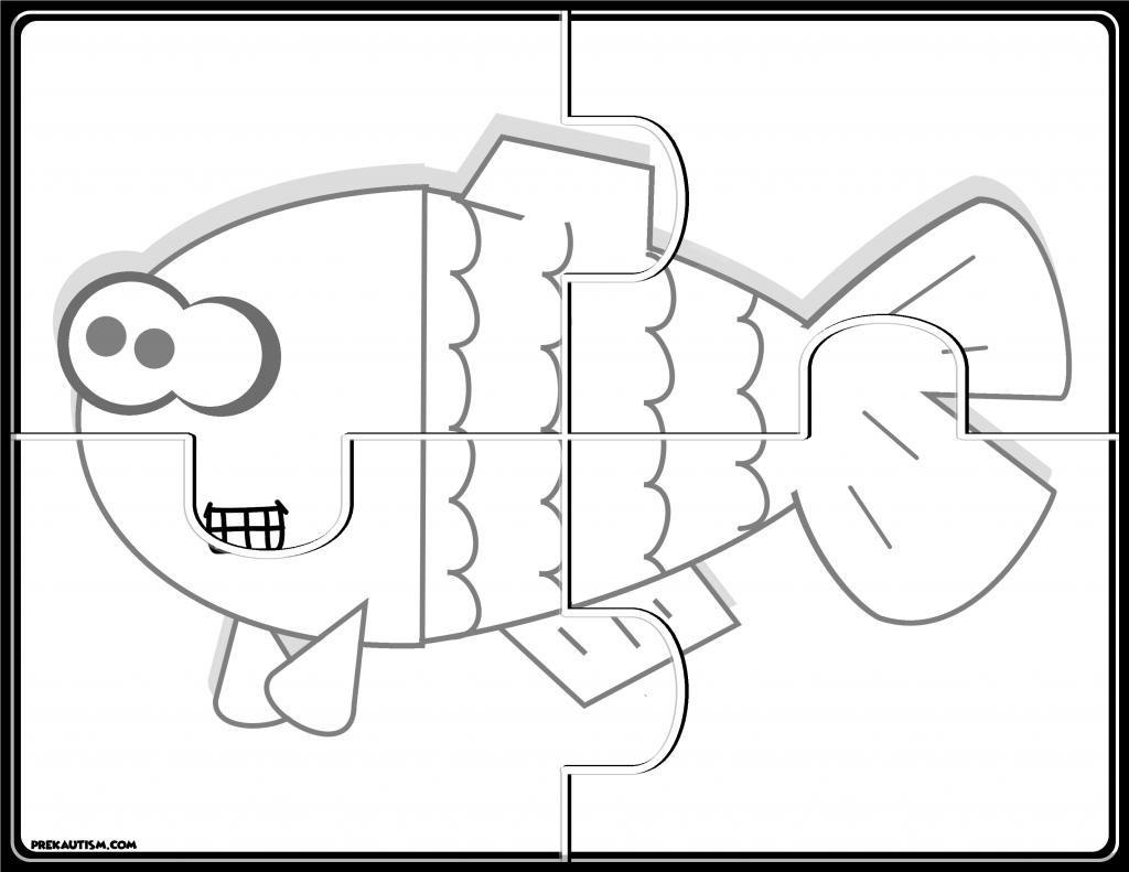 FREE Printable Animal Jigsaw Puzzles