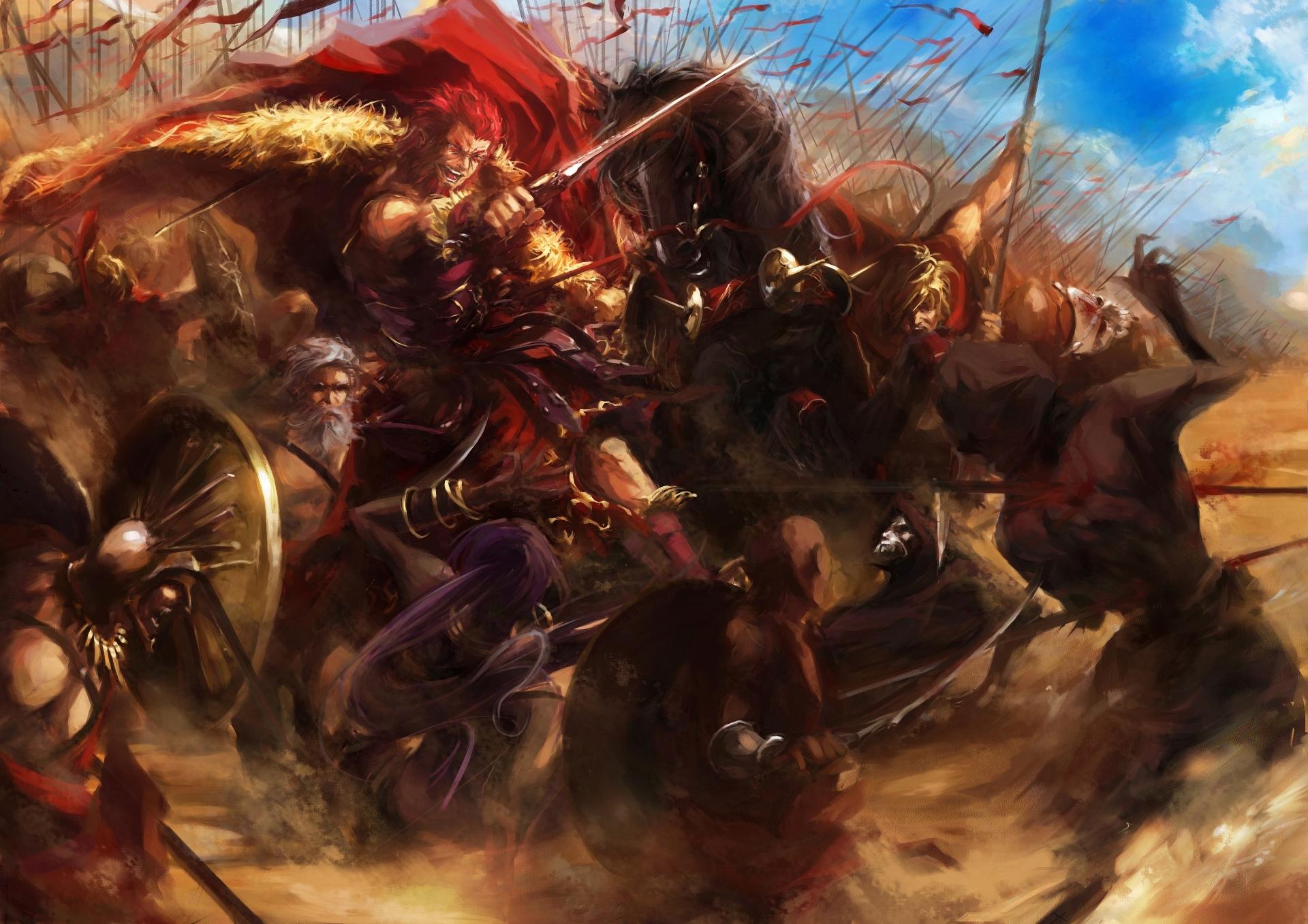 Anime Fate Zero Fate Series Rider Fate Zero Assassin Fate Zero