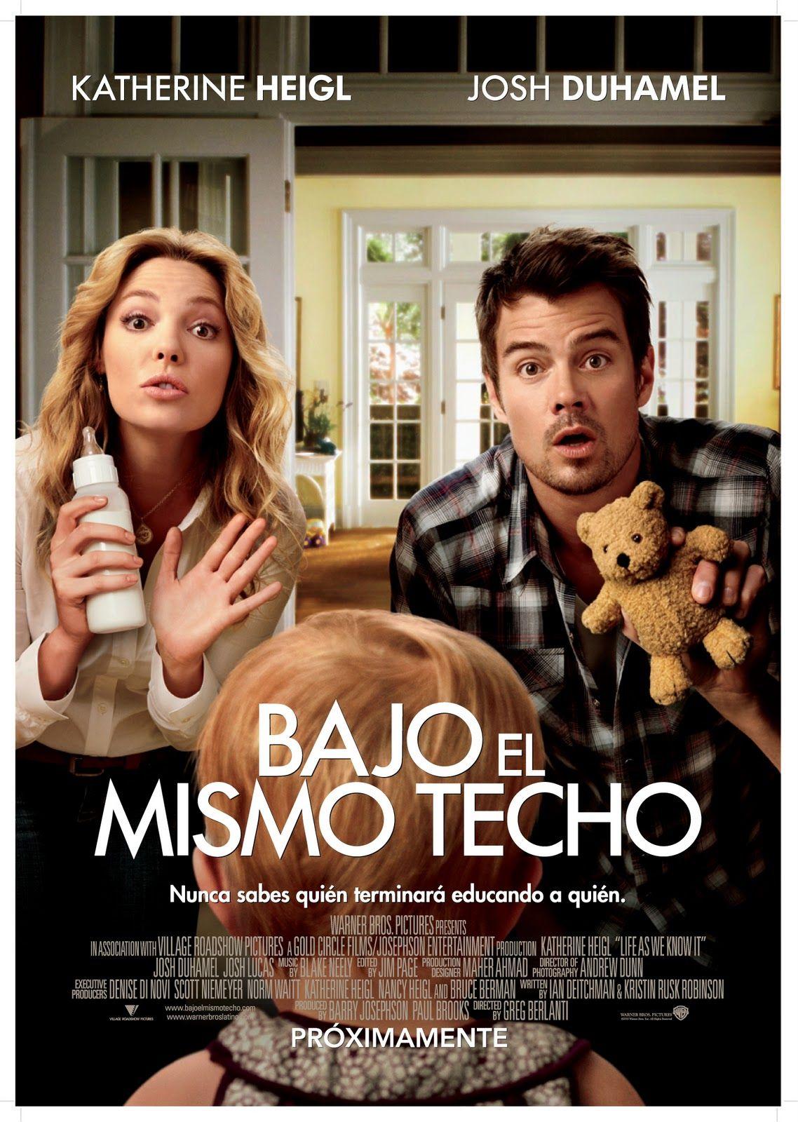 Bajo El Mismo Techo 2010 Latino Subtitulada Cuenta La Historia De Dos Solteros Holly Berenson Peliculas Mejores Peliculas Divertidas Peliculas De Comedia