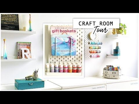 Photo of CRAFT ROOM TOUR | WOMAN CAVE