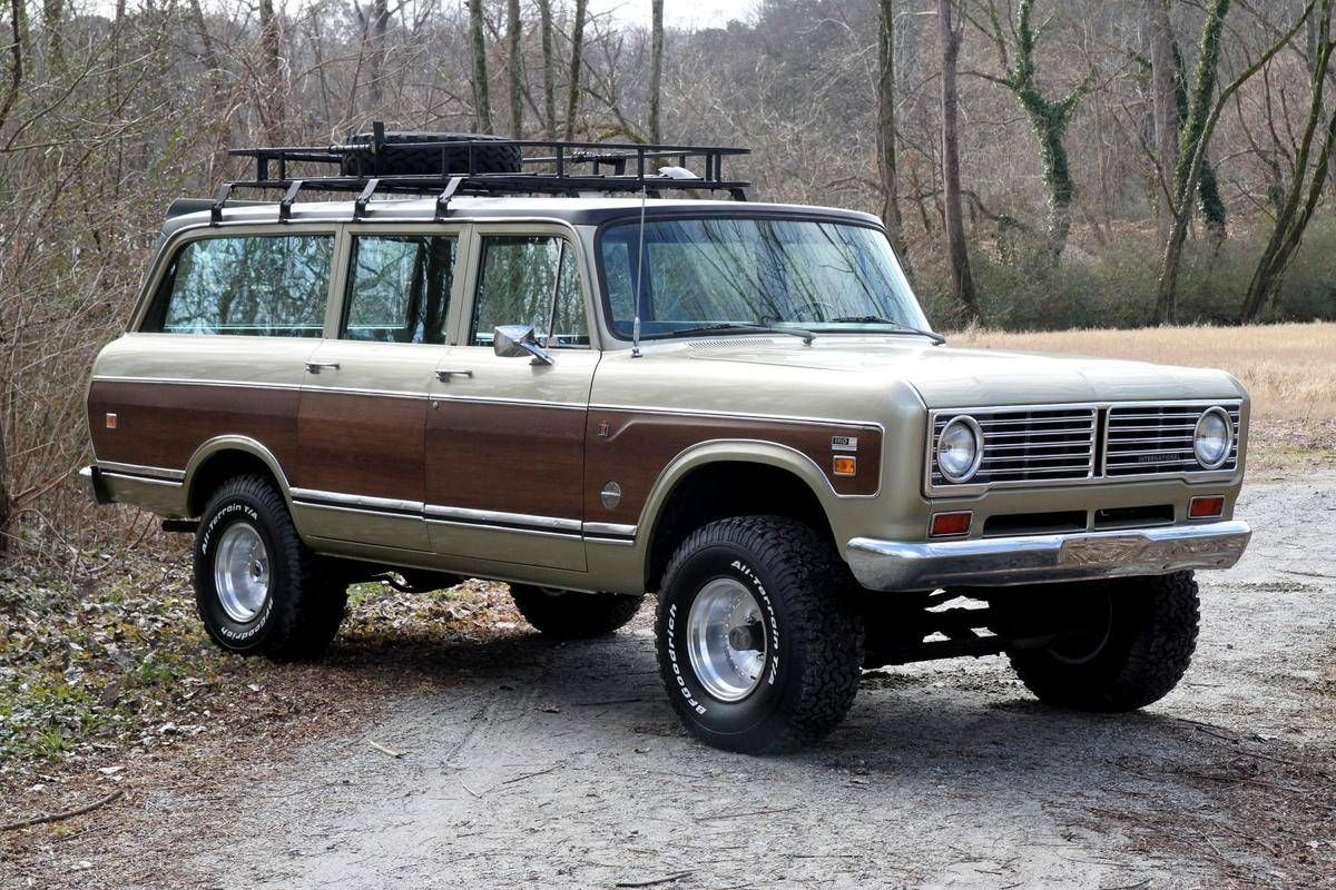 International Travelall 4x4 - 1973 international travelall image 1 of 36 this is the one