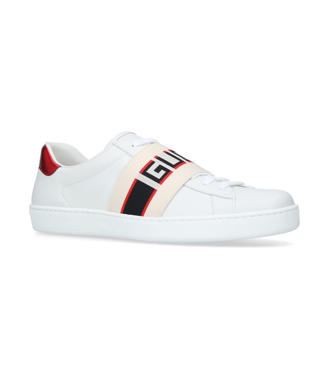 GUCCI ELASTIC ACE SNEAKERS. #gucci #shoes