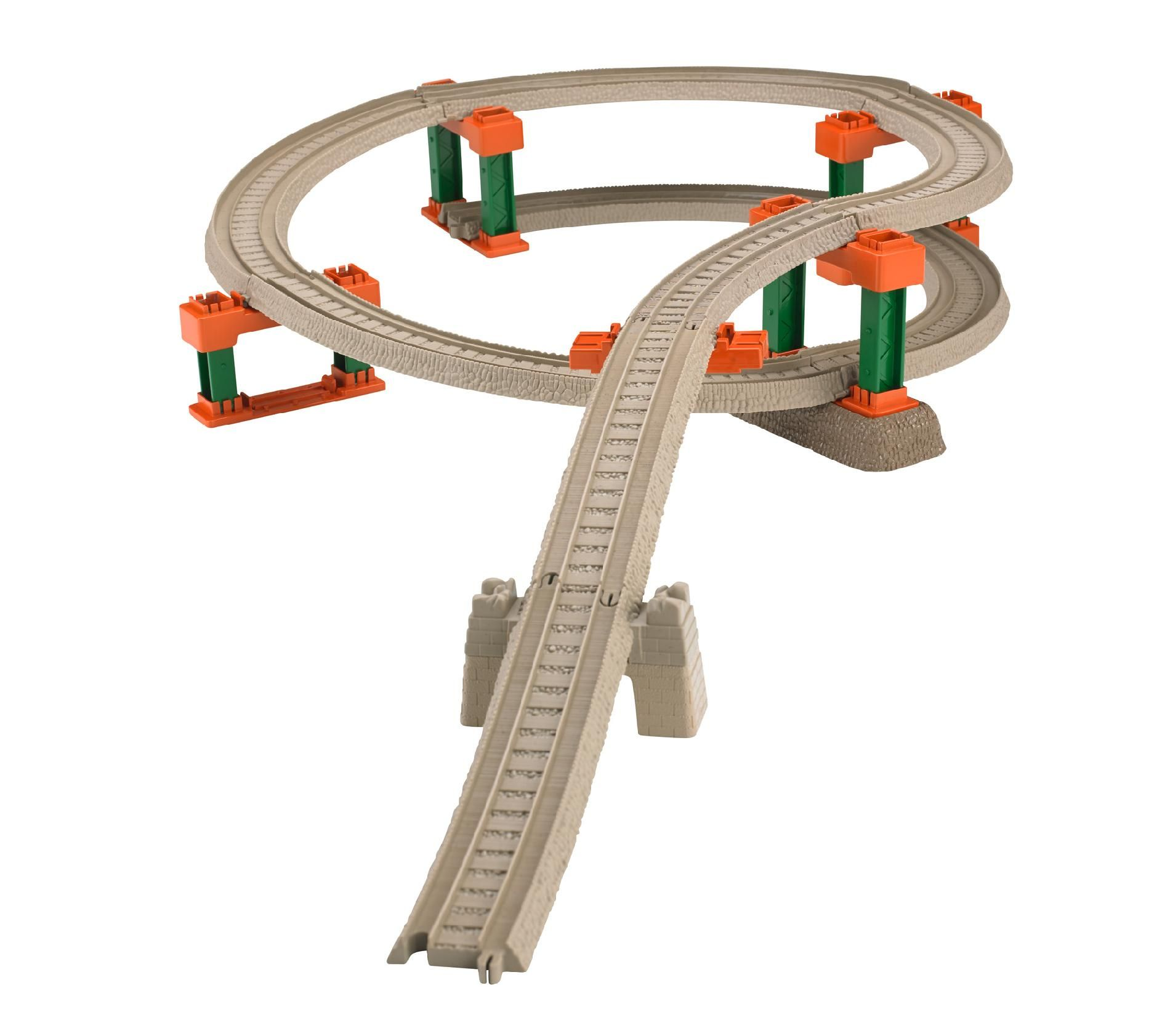 Fisher price thomas amp friends trackmaster treasure chase set new - Fisher Price Thomas The Train Trackmaster Deluxe Spiral Track Pack