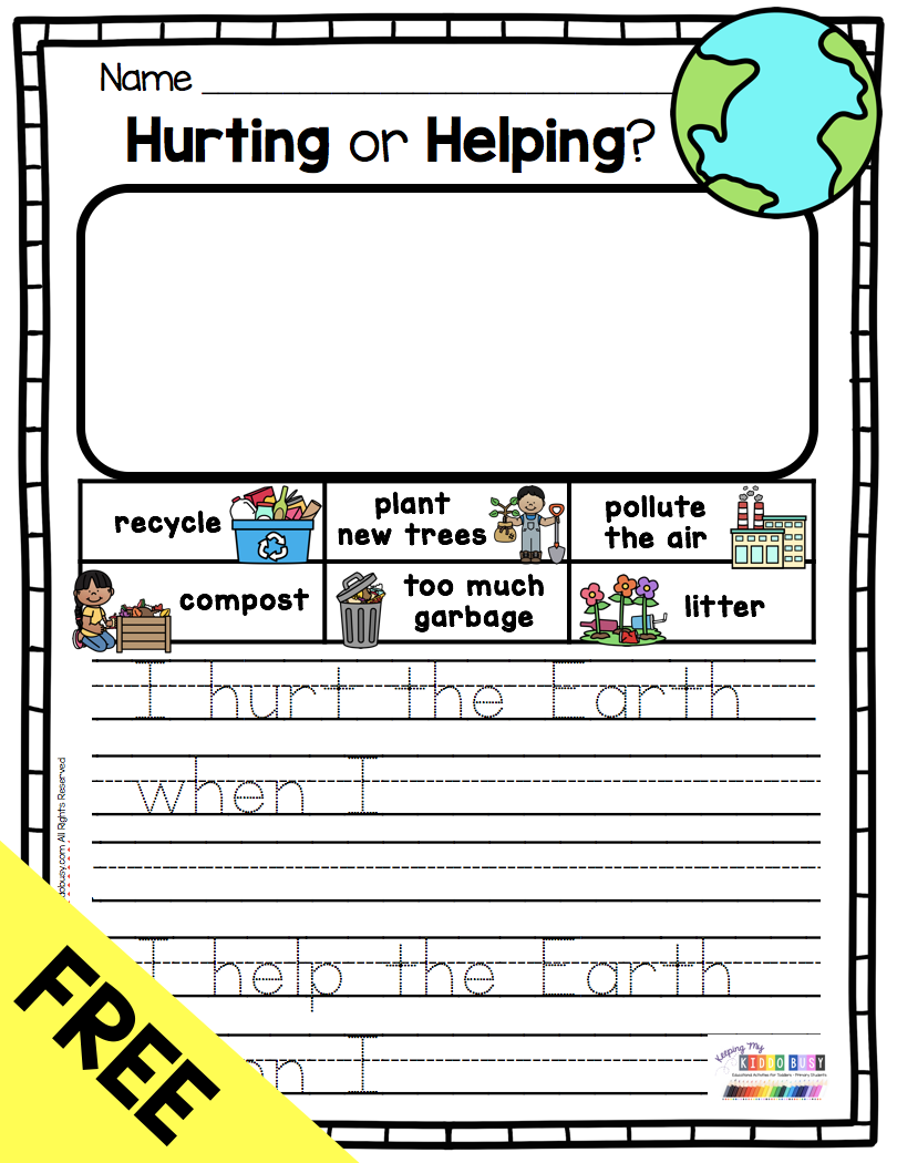 All About Planet Earth Free Activities Keeping My Kiddo Busy Earth Day Worksheets Earth Day Activities Earth Activities [ 1050 x 810 Pixel ]