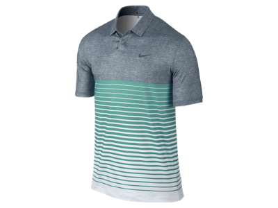 TW Bold Stripe Men's Golf Polo SIZE Medium
