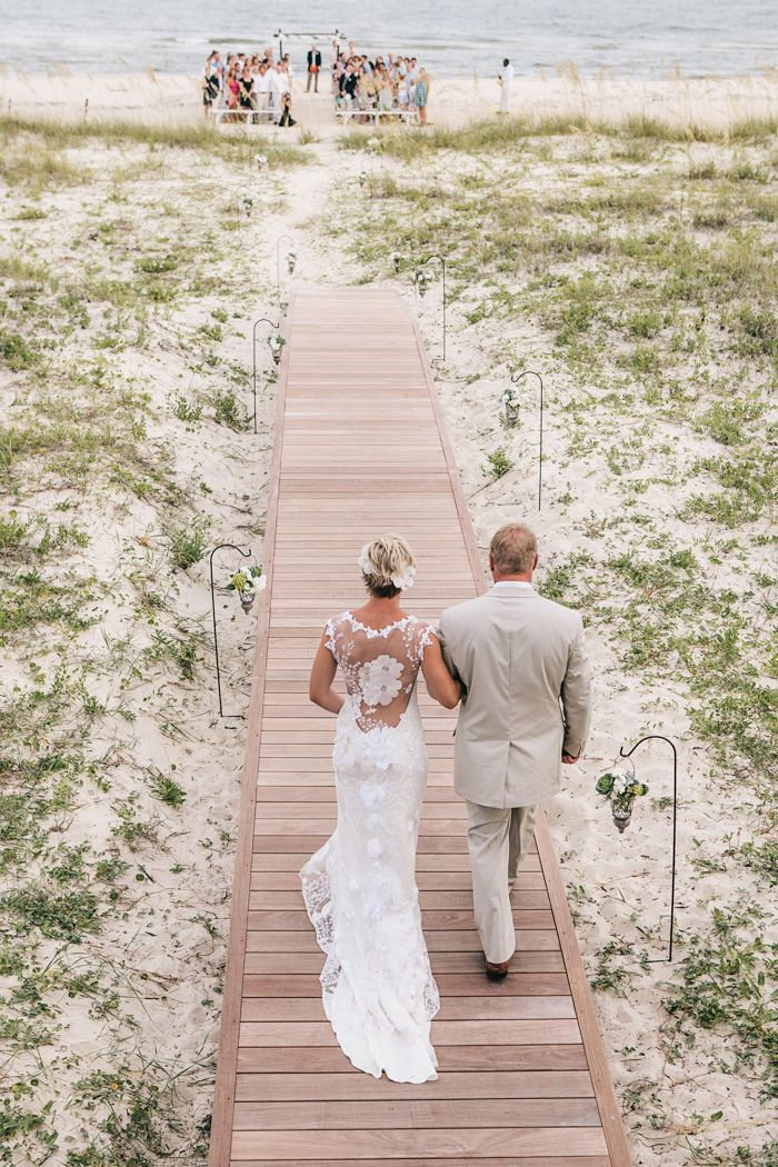 Devin And Ed Planned A Destination Wedding At Beach House On St George Island Which Has Been In The Bride S Family For Generations They Hosted Frie