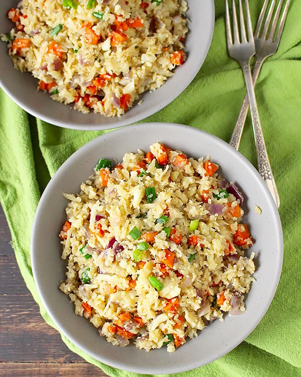 is rice cauliflower good for whole 30 diets