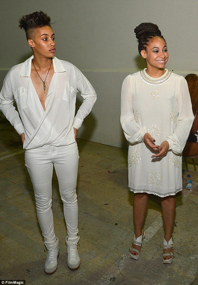 So alike: The couple, seen here in 2013 at the Ludacris Official Birthday Party in Atlanta...