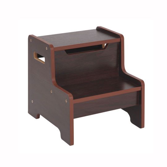 Guidecraft Expressions Step Stool In Espresso Step Stool Step