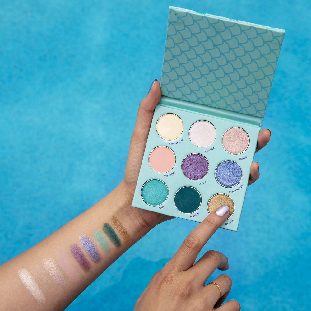 Mermaid Kitten Palette In 2020 Fall Eyeshadow Palette How To Apply Eyeliner Winky Lux