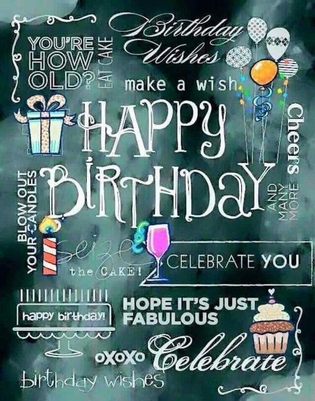 Pin By Ilene Poggi Vacante On Birthday Celebrations Happy Birthday