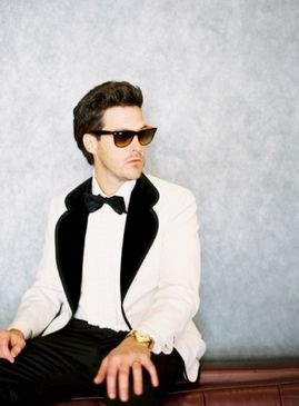 Style Snapshot: Refined Rocker by Tec Petaya on Well Groomed #groom #dapper #rocker #chic #wedding