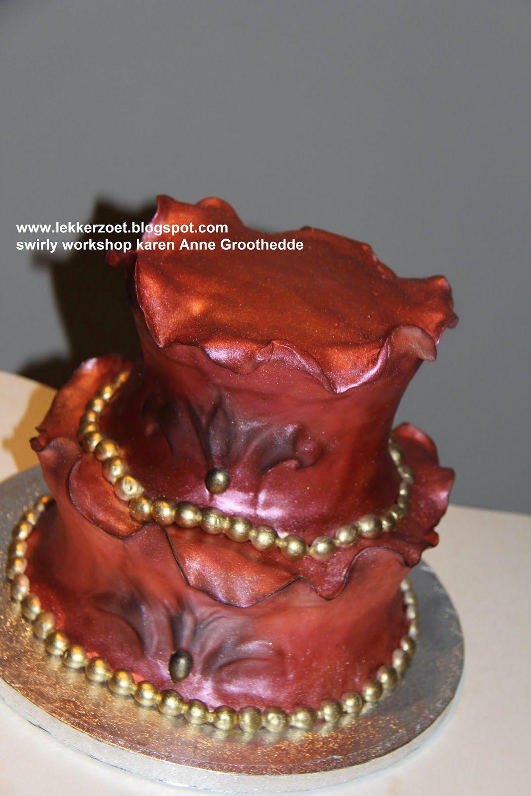 lekker zoet: Swirly workshop bij Karen Anne Groothedde