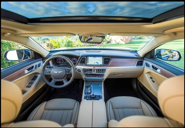 The 2018 Hyundai Genesis Offers Outstanding Style And Technology Both Inside Out See Interior