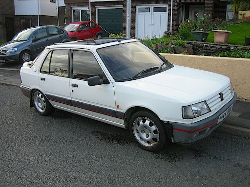 peugeot 309 gti white 5 door this was my first 39 nice 39 car it was fantastic even after i. Black Bedroom Furniture Sets. Home Design Ideas
