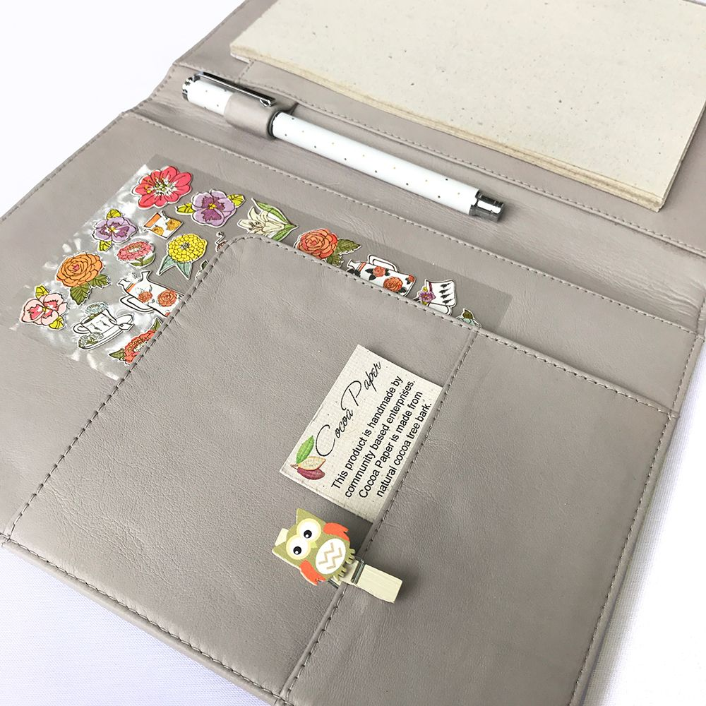 graphic relating to Planner Binders called All clPale Gray leather-based is readily available upon all our