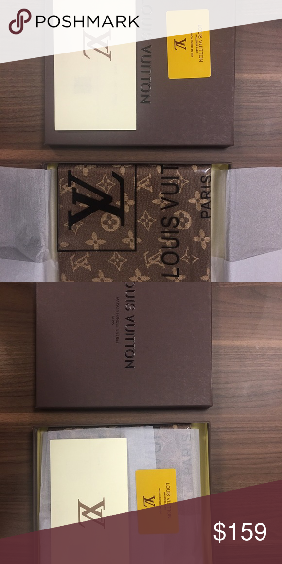 Louis Vuitton scarf Chocolate brown Louis Vuitton scarf brand new never used still in packaging and has all authentication pieces. Louis Vuitton Accessories Scarves & Wraps