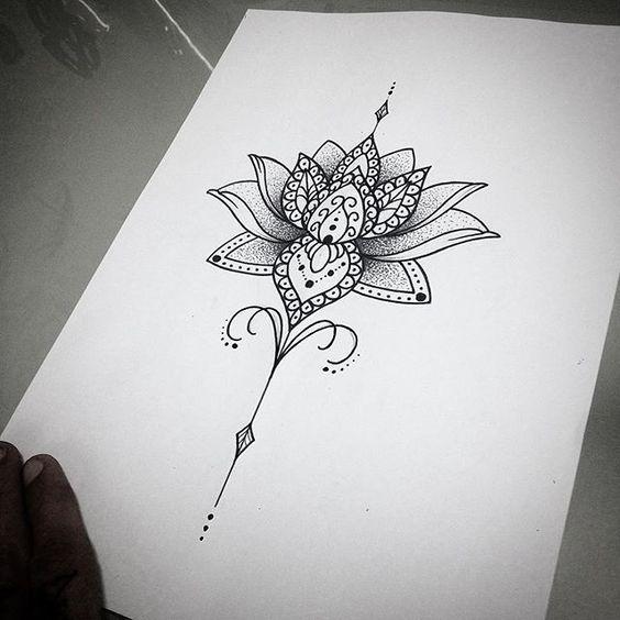 Tatuagem De Mandala Feminina Significado Pesquisa Google Tatuagem Tatuagem De Unalome E Tattoos Na Coluna