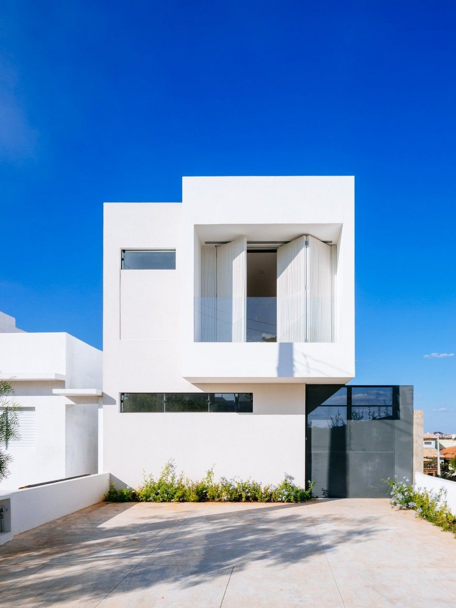 Casa moderna y peque a arquitectura pinterest casas for Arquitectura moderna casas pequenas