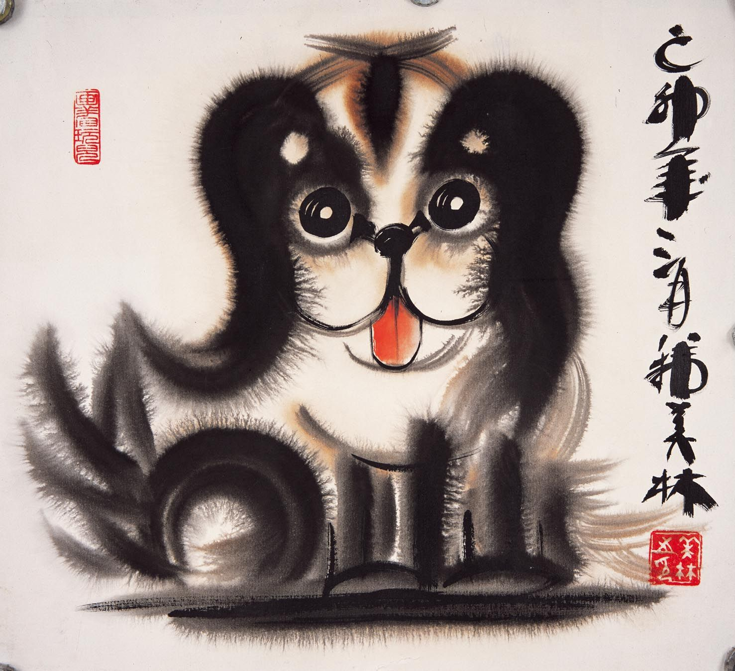 韩美林动物画② - 潮河边人的日志- 网易博客 Kid Art, Art For Kids, Chinese Brush, Chinese Painting, Ink Painting, Asian Art, China, Paintings, Contemporary