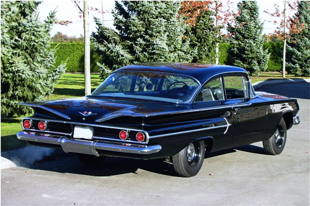 1960 Chevrolet Bel Air 2 Door Coupe Rear 3 4 161797 Chevrolet Bel Air Chevrolet Classic Cars Trucks Hot Rods