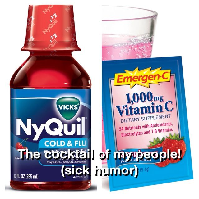 does nyquil make you gain weight