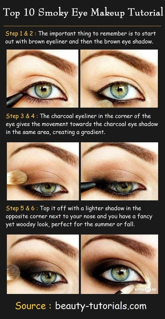 Smokey Eye Makeup Tutorials: Here I am going to share you my top picks and a little something about why I think they deserve to be mentioned. #makeup #makeuptutorials #eyemakeup