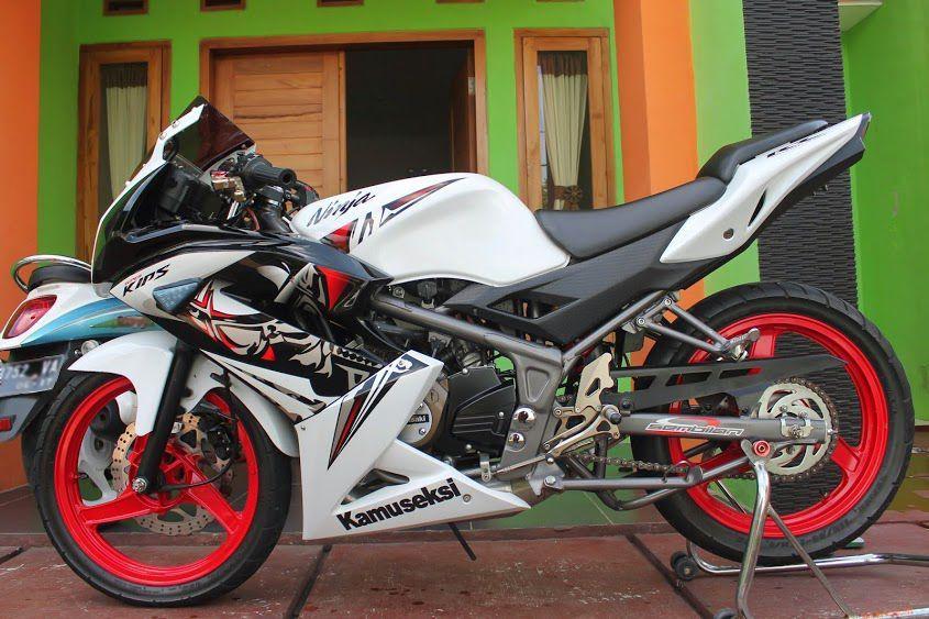 Modifikasi Cbr 150 Pelek Jari Jari In 2020 Kawasaki Ninja Motorcycle Ninja