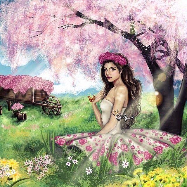Painting Girly M Girly Drawings Girly Art