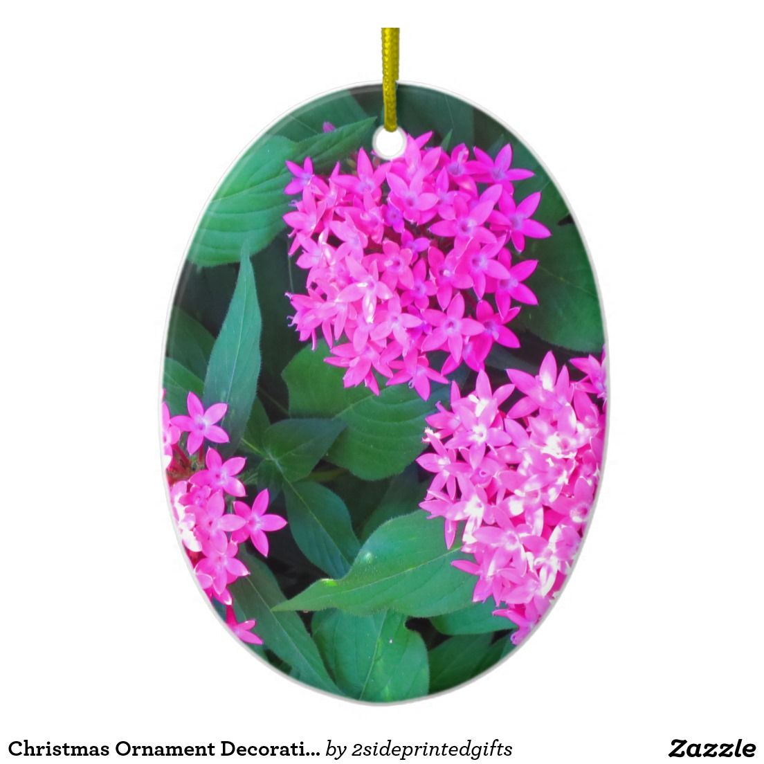 Christmas ornament decorative flower floral diy ornaments all over