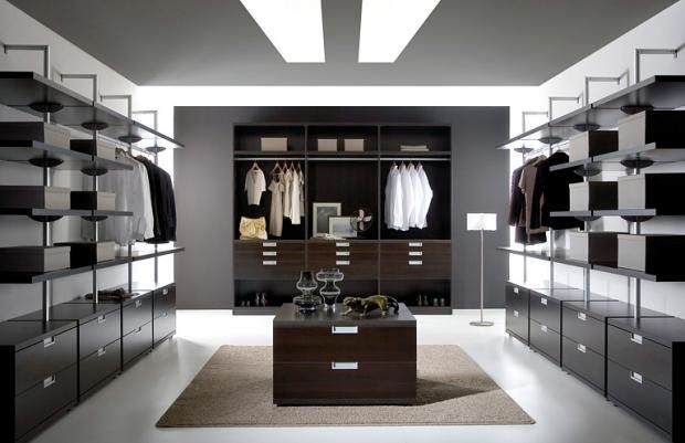 Begehbare Kleiderschränke - Anbieter und Systeme | Schranksystem ...